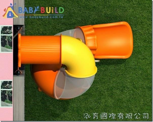 BabyBuild 大口徑隧道螺旋逃生滑梯