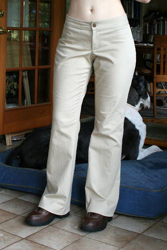 J Stern Designs: Khaki Pants (stretch cotton twill)