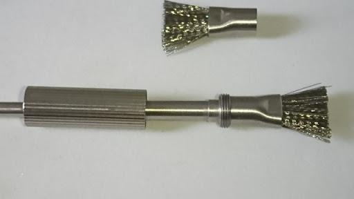 DSC 2467 thumb%25255B2%25255D - 【小物/ビルド】「Coilmaster Vape Brush(コイルマスター ブラシ付きコイルジグ)」レビュー。ドライバーン時のガンク除去+コイルジグの便利優れものビルド小道具!