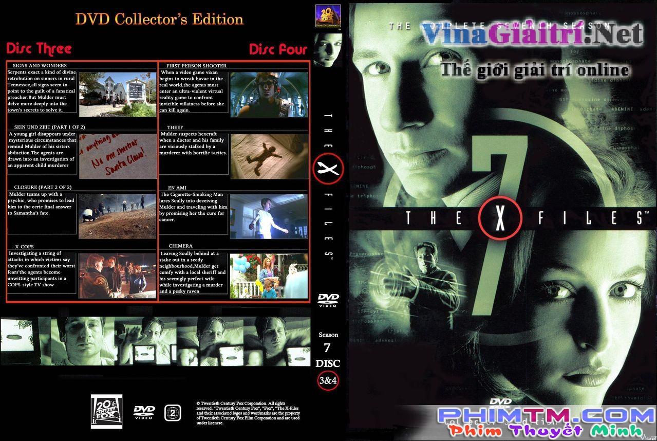 Xem Phim Hồ Sơ Tuyệt Mật (phần 7) - The X Files Season 7 - phimtm.com - Ảnh 1