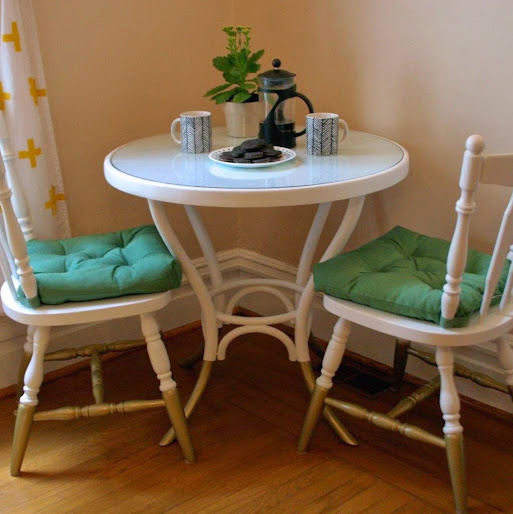 Table & Chairs Makeover