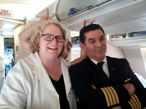 Love the crew with Turkish Airlines! From What's It Really Like to Fly Turkish Airlines Business Class?