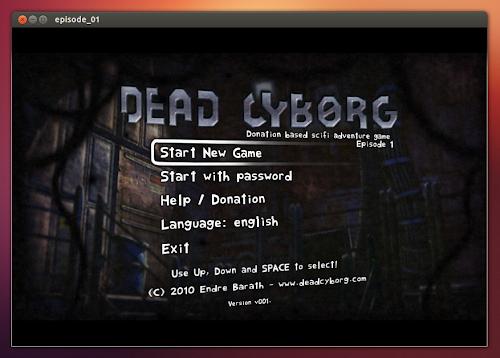 Dead Cyborg su Ubuntu