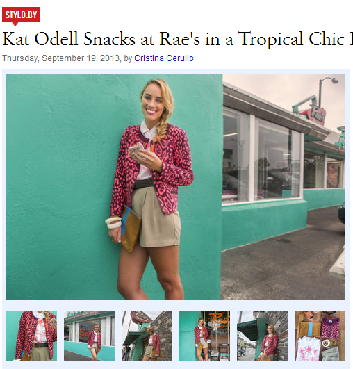 In This Example, A Restaurant Review Blog Includes A Post Spotlighting  Their Partner, Gap. They Did A Great Job Incorporating The Two Niches By  Featuring ...