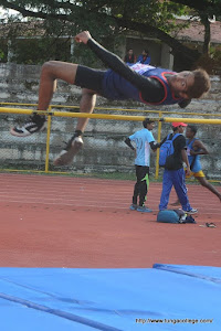 Kuvempu University Inter collegiate  High Jump Record Holder Promadh & Yuvaraj