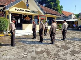 Bentuk Kesiapan Pelayanan, Polsek Wonomerto Laksanakan Serah Terima Tugas