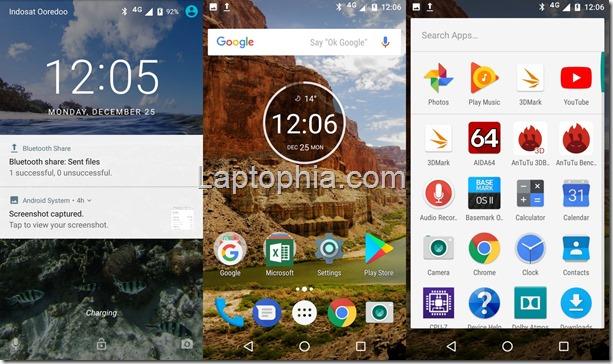 Software & Fitur Motorola Moto M XT1663