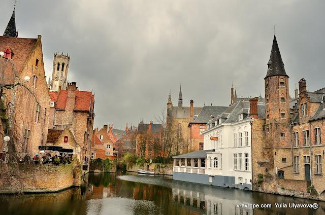 Каналы в Брюгге