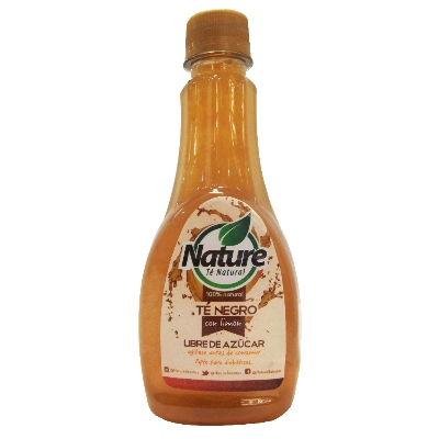 te nature negro libre de azucar 330ml
