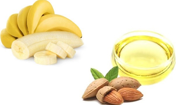 Banana-and-Almond-Oil-face-Pack