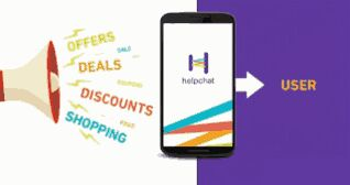 HelpChat - 100 Rs Cashback On First Food Order of 299 Rs More