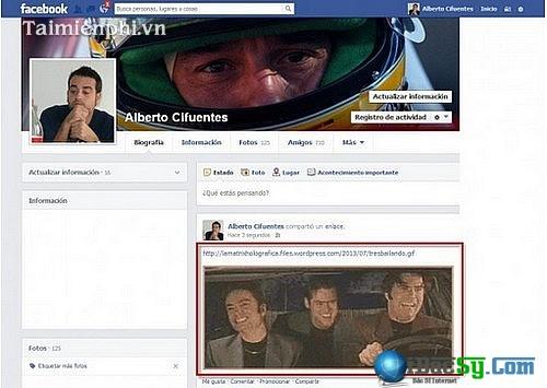 Đăng ảnh động lên Facebook