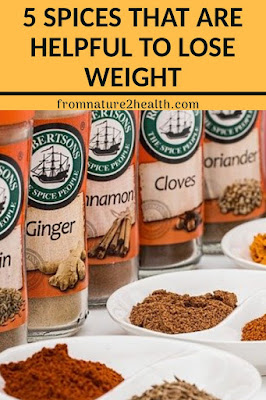 Black Pepper Helpful To Lose Weight,  Cinnamon Helpful To Lose Weight, Fenugreek Helpful To Lose Weight, Ginger Helpful To Lose Weight, Turmeric Helpful To Lose Weight,