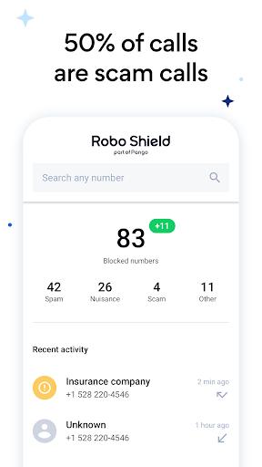 Robo Shield - Spam Call Blocker & Caller ID screenshot 2