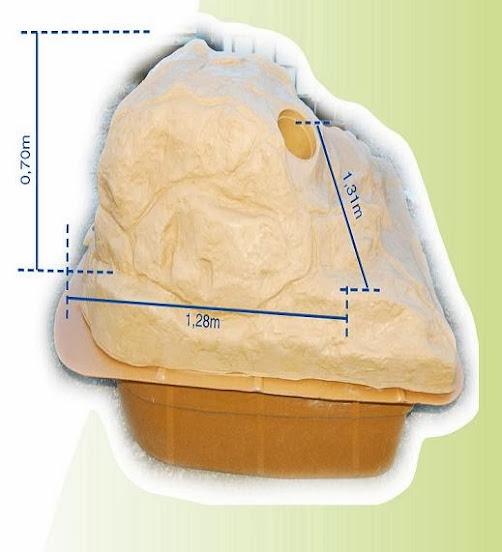 Constructeur de piscine produits accessoires for Local technique rocher