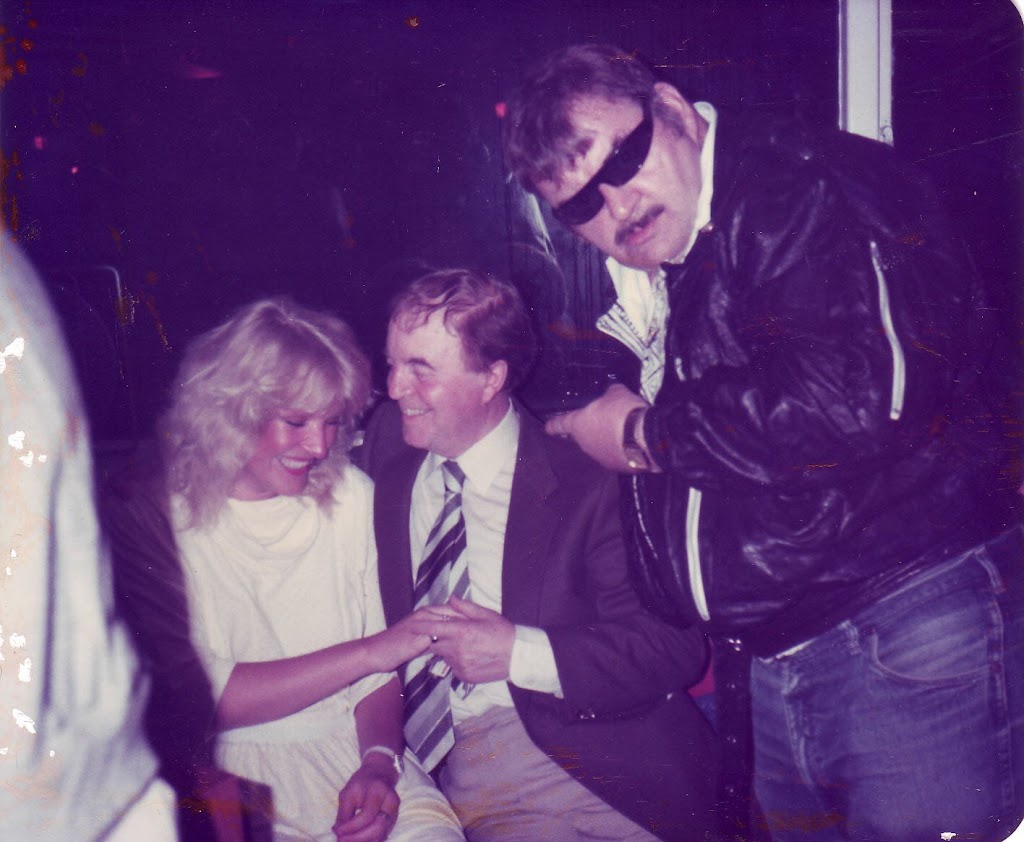 Me, Felix Bowness and Paul Shane