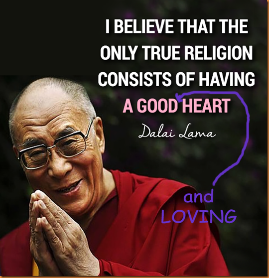 loving heart Dalai