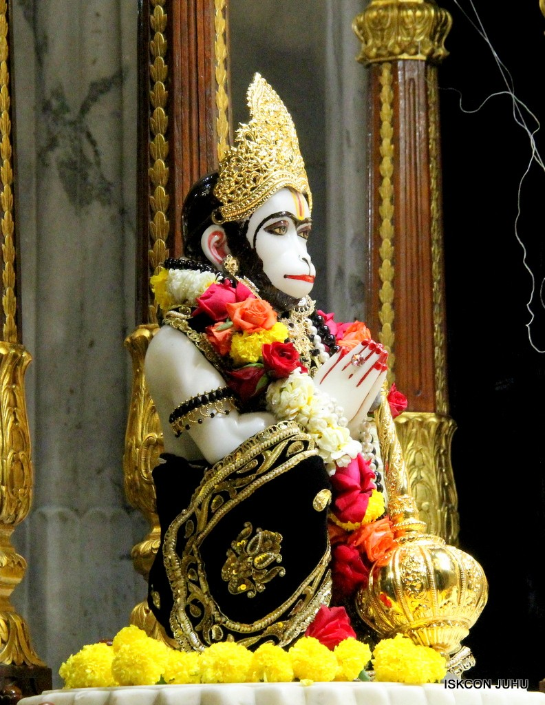 ISKCON Juhu Sringar Deity Darshan 7 Jan 2017  (33)