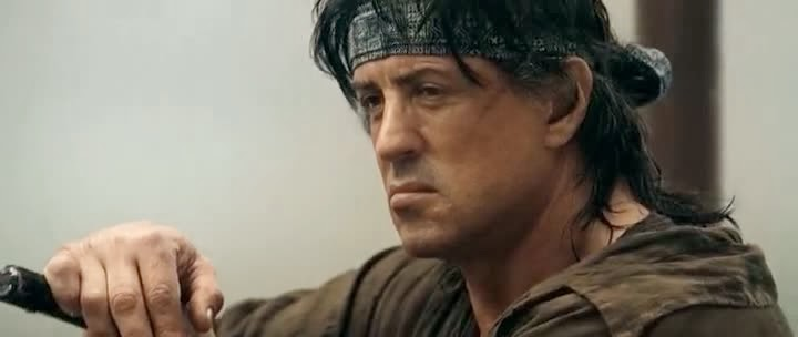 Screen Shot Of Hollywood Movie Rambo: First Blood Part IV (2008) In Hindi English Full Movie Free Download And Watch Online at Alldownloads4u.Com