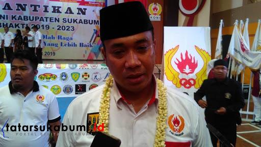 Biaya Operasional Naik 100 Persen, Ketua KONI Sukabumi Siap Mundur Dari Jabatan Bila Kerja Tidak Sesuai