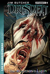Actualizacion 16/08/2017: Sandra nos regocija con el numero 3 de The Dresden Files: Dog Men.