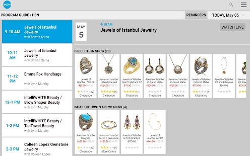 HSN Tablet Shop App- screenshot thumbnail