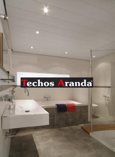 Presupuestos economicos techos de aluminio para baños Madrid