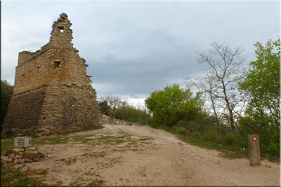 Ruinas de la torre de Eskibelgo atxa