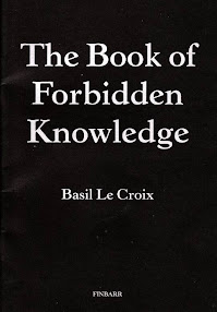 Cover of Basil Crouch's Book The Book Of Forbidden Knowledge