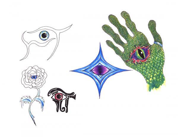 Design Of Mysterious Tattoo 9, Fantasy Tattoo Designs