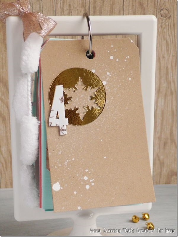 Christmas Countdown-Sizzix-big shot-diecutting-ikea frame-tag-scrapbooking (4)