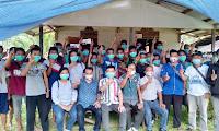 Sosialisasi Di Dua Desa, Warga Berdoa Agar Pasangan Aron Subandrio Terpilih Menjadi Bupati