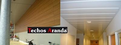 Precios economicos empresa techos aluminio Madrid