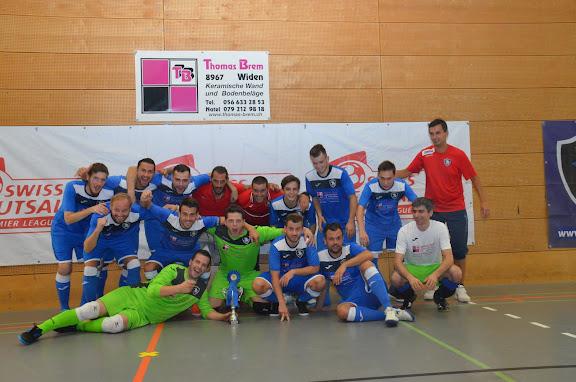 2015 - 30.8 Siegerehrung 2. Int. Futsal Turnier AFM Futsal Maniacs