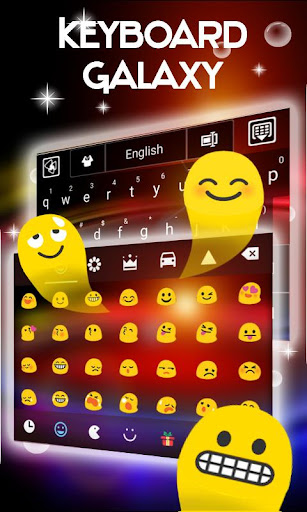 無料个人化AppのギャラクシーのGOキーボードのテーマ|記事Game