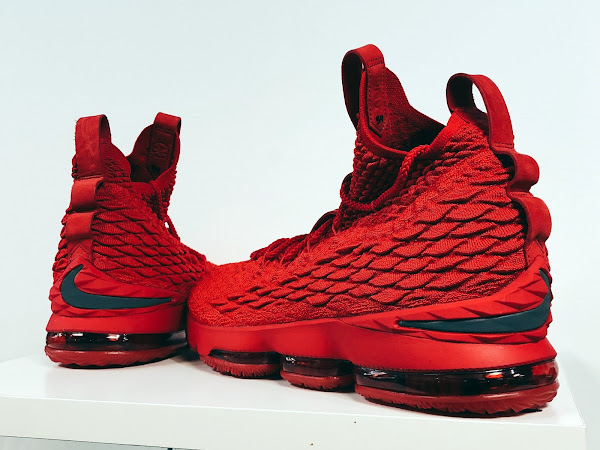 PJ Tucker Brings Out Nike LeBron 15 Ohio State Home PE