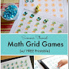 FREE Summer Themed Grid Number Games