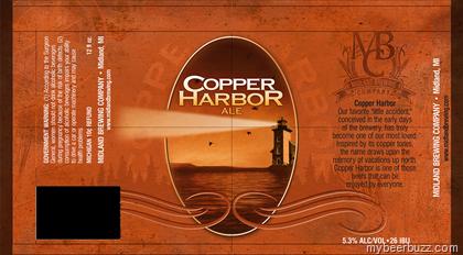Midland Brewing - Copper Harbor Ale - mybeerbuzz com - Bringing Good