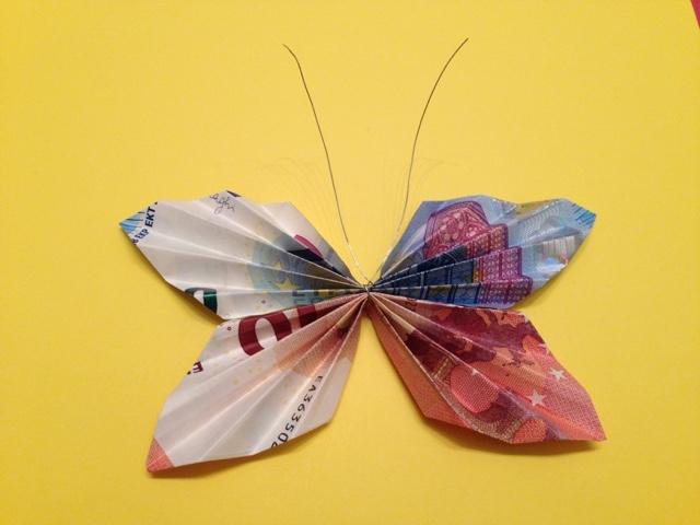 mariposa billetes