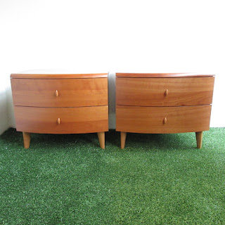 Cherry Nightstand Pair