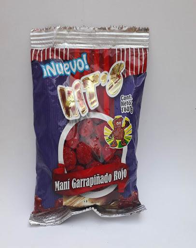 snack hits mani garrapinado 160gr