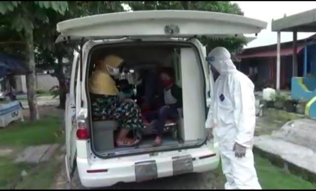 Panggilan Hati, Danposal Kumai Lanal Jadi Driver Ambulans