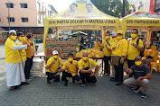 Sambut Idul Fitri, Komunitas SATU HATI Bersama Golkar Sumut Gelar Baksos dan Bagi Takjil