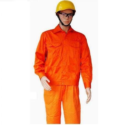 Quần áo bảo hộ lao động vải kaki L2 Nam Định -QAK0018