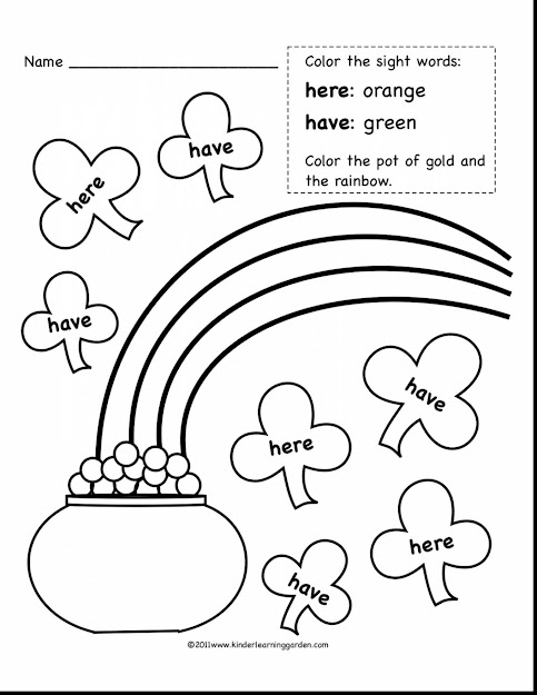 Astonishing Kindergarten Sight Word Coloring Pages With Word Coloring Pages  And Sight Word Coloring Pages Printable