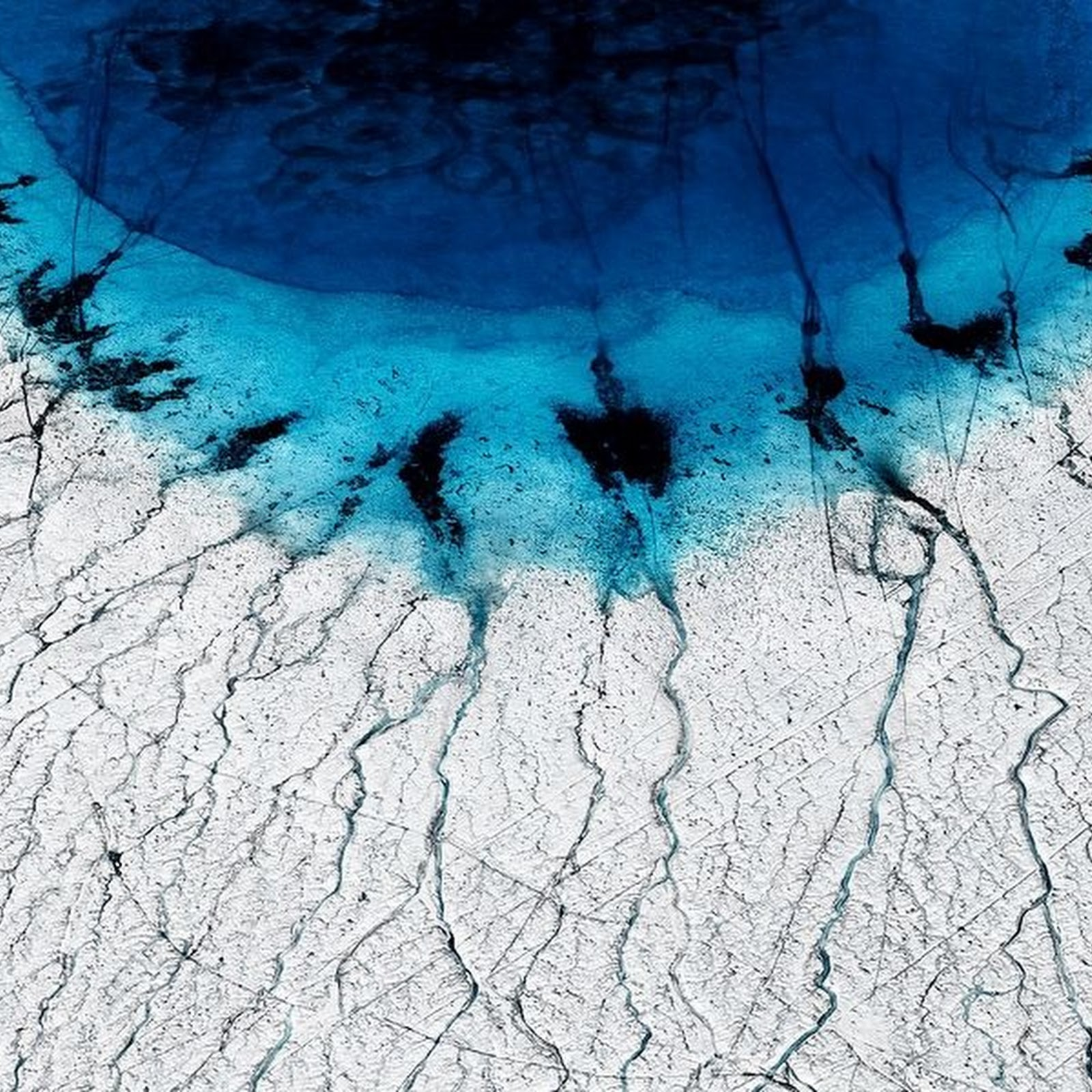 The Terrifying Beauty of Melting Icecaps