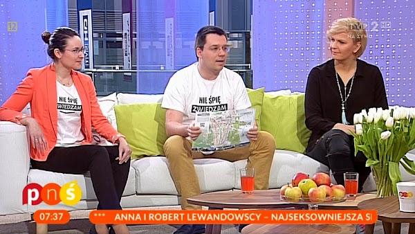 Kasia i Maciej Marczewscy w TVP2 Pytanie na Śniadanie