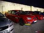 Modded Red Ford Focus