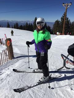 Rebecca Skiing in Santa Fe