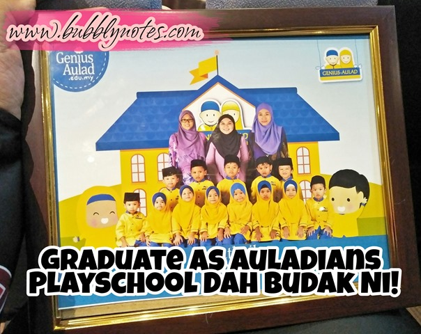 Graduate As Auladians Playschool Dah Budak Ni!  (4)